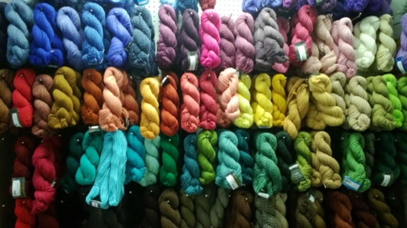 Do you have a favourite type/brand of yarn to knit/crochet with?