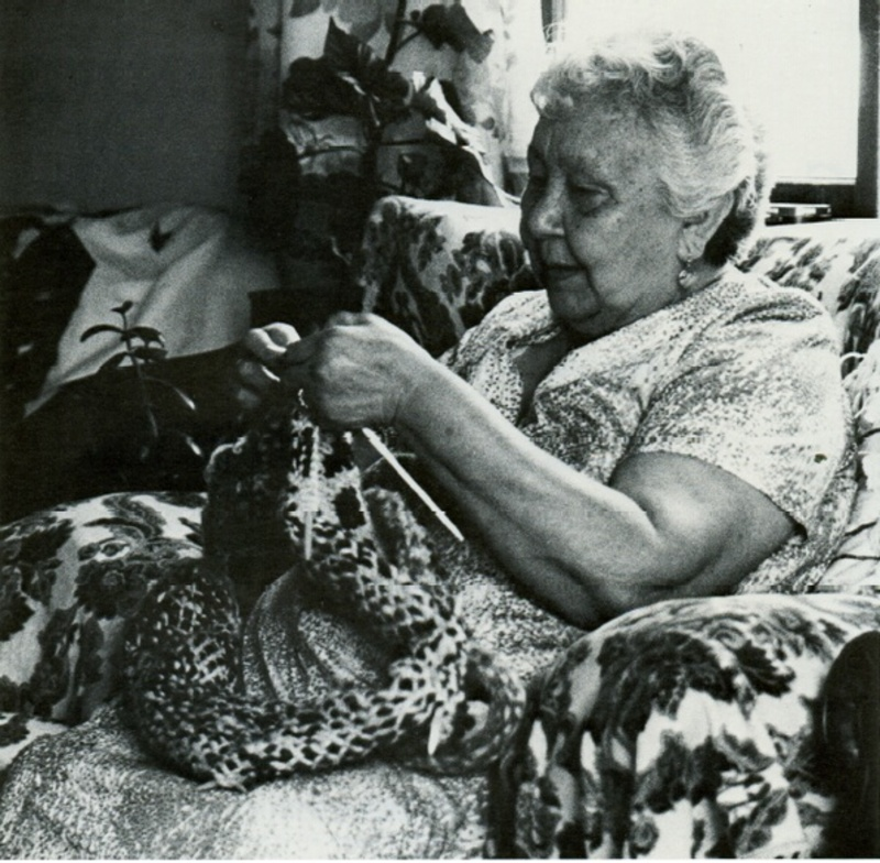 Have you ever tried Cowichan knitting?